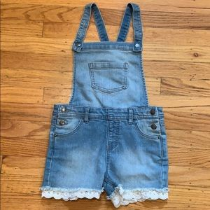 Cat & Jack Denim Overall, Size 6 years